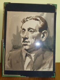 Art Deco photo frame