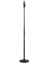 Rockville RVMIC4 Round-Base Microphone Stand With Quick Release Hand Clutch