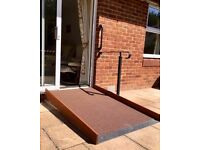 Wheelchair Access Ramps Safest Anti-Slip Surface Tailor Made to suit you