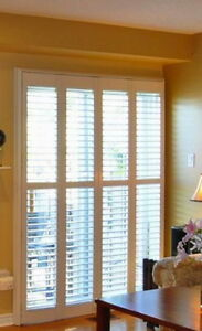 California Shutters for Patio Doors