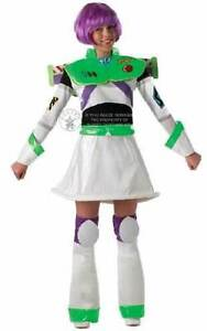 BUZZ LIGHT YEAR LADIES DISNEY COSTUME  ADELAIDE INCLUDES WIG Glandore Marion Area Preview
