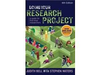 Doing Your Research Project: A Guide for First-Time Researchers J Bell S Waters 2014 6th edition