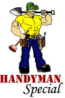 Hard-working, Reliable, Experienced Handyman