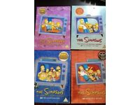 Simpsons Boxsets DVD Season 2,3,4,5- Very Good Condition