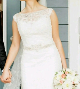 Designer French Lace Wedding Dress