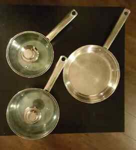 Pots (5 pieces) Edmonton Edmonton Area image 2