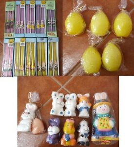 Variety Of Brand New Easter Candles - Lots Of Shapes And Sizes