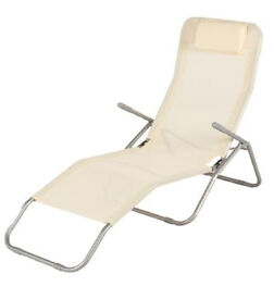 Sun loungers two almost new £35 for the pair