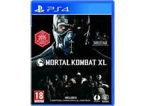 Mortal Kombat xl for PS4