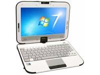"10"" Touchscreen 2-in-1 Rotating LAPTOP - 64GB SSD - 2GB Ram - Windows 7 - 1 YEAR WARRANTY"
