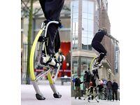 Adult jumping stilts 70kg -90kg ( powerisers, kangaroo shoes, bouncing stilts)