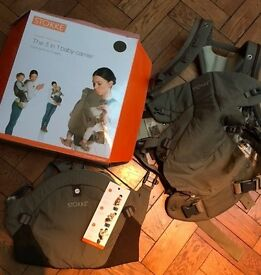 Stokke 3 in 1 Baby Carrier in Taupe