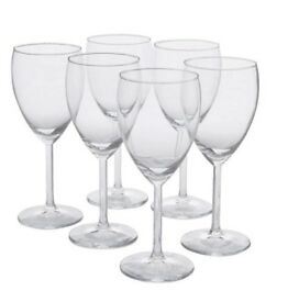 JOB LOT - 100 WINE GLASSES FOR SALE - £30