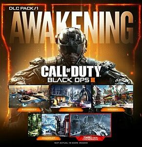 UNUSED CALL OF DUTY BLACK OPS 3 AWAKENING MAP PACK DLC PS4 Cambridge Kitchener Area image 1