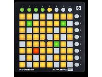 Novation launchpad full size. Boxed