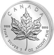 Silbermünze Maple Leaf
