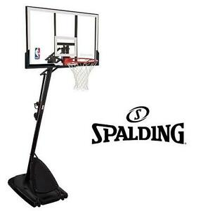 "NEW* SPALDING 54"" BASKETBALL SYSTEM BASKETBALL NET GAMES TOYS OUTDOORS FITNESS RECREATION 108886156"