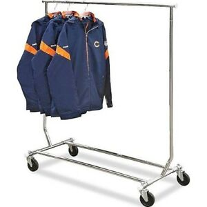 Coat rack on wheels