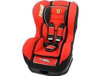 Farrari baby car seat for sale