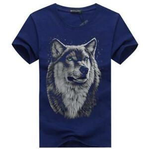 Wolf 3D Printed T-shirt - 60% OFF - FREE Shipping