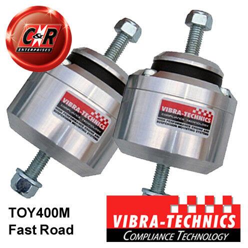 2 x Lexus GS300 JZS147 (91-97) Vibra Technics Engine Mount Fast Road TOY400M