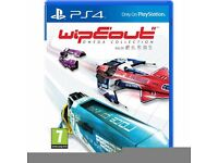 PS4 console and wipeout game