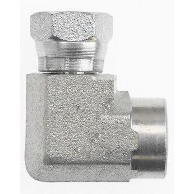 1502-16-16 Hydraulic Fitting 1 Female Pipe X 1 Female Pipe Swivel 90