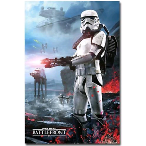 Star wars Battlefront poster