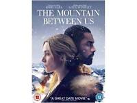 Brand new unopened DVD The Mountain Between Us