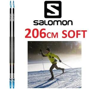 NEW SALOMON RX SKIN SKIS 206CM L39917800206 224991513 CROSS COUNTRY SKIS SOFT