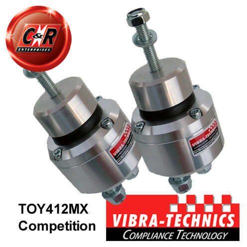2 x Lexus GS300 JZS161 (97-04) Vibra Technics Engine Mount Race TOY412MX