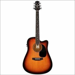 BRAND NEW ASHTON ELECTRIC ACOUSTIC GUITAR WITH CARRY BAG Perth Perth City Area Preview
