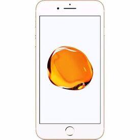 apple i phone 7 32gb unĺocked brand new rose.glod