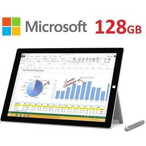 "NEW OB MICROSOFT SURFACE PRO 3 12"" - 118848925 - 128GB WINDOWS TABLET NEW OPEN BOX Intel Core i5 4GB RAM WINDOWS 8.1 PRO"