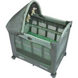Graco Travel Lite playpen with stages