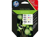 HP 950XL/951XL Combo Pack Ink cartridge - 4-pack Black, colour (cyan, magenta, yellow)