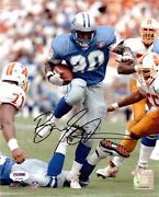 Barry Sanders Signed Photo