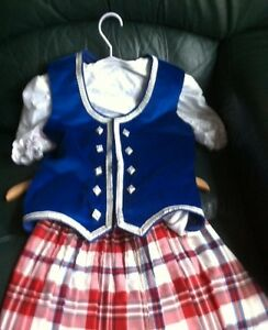 Like New Highland Dance Custom Made Outfit