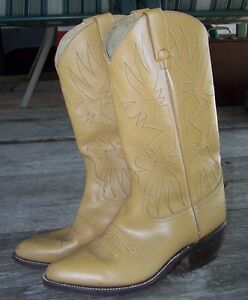 $35.00  LADIES COWBOY BOOTS, SIZE-7