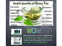 Green tea capsules (30)