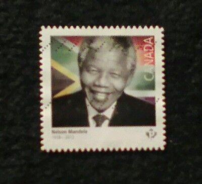 Canada 2015 Nelson Mandela used