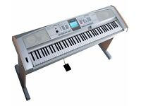 Yamaha Portable Grand DGX-505 with Stand, Sustain Pedal, Music Rest & Original Manual