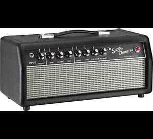 Fender Super-Champ X2 tube amp & BUGERA 2X12 cab