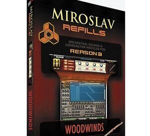 IK Multimedia Miroslav Refills for REASON Volume 6 - Woodwinds Mac/PC