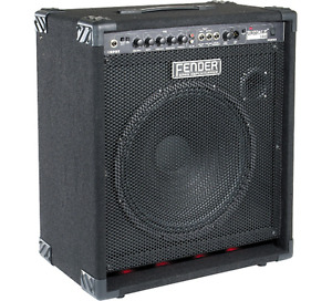 Fender Rumble 100 watt bass amp with 15 inch speaker
