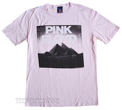 Junk Food Pink Floyd The Rocks T-shirt Light weight Soft Fine Jersey SLIM Fits ()