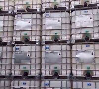1000liter plastic water totes OVERSTOCKED
