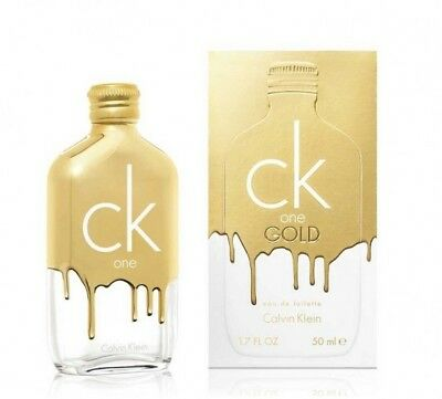 Calvin Klein Profumo Unisex ck one GOLD eau de toilette 50ml spray