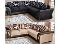 SHANNON SOFA FABRIC CORNER 3+2 SEATER