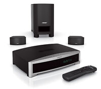 Bose lifestyle 321 gsx III WITH DVD AND TWO SPEAKERS AND SUB M